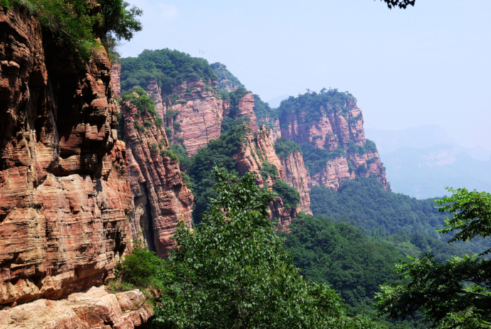 Zhangshiyan Mountains are a must see site.